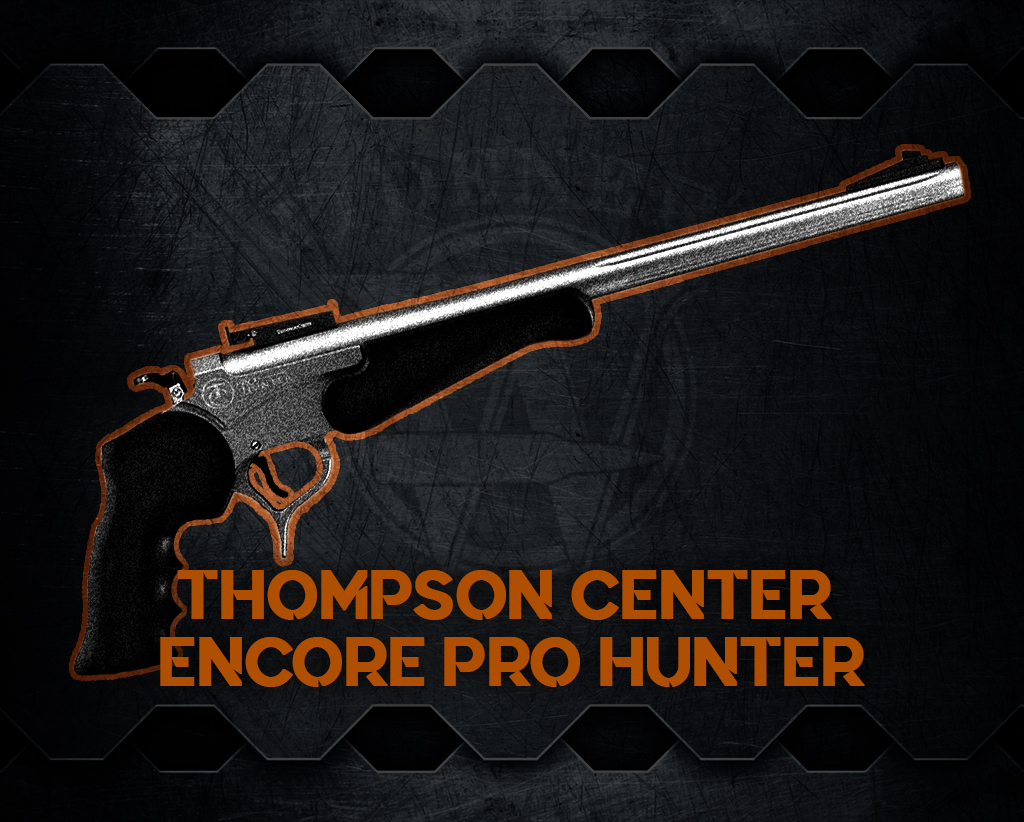 a photo of the Thompson Center Encore Pro Hunter most powerful handguns