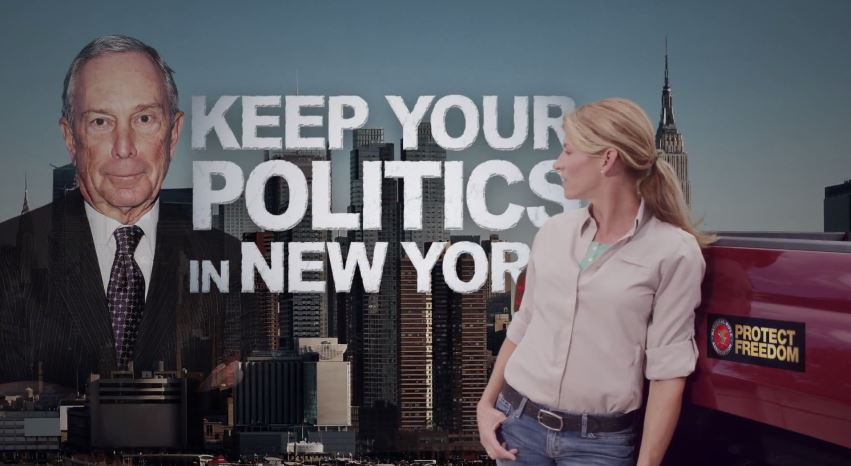 NRA attack ad against bloomberg