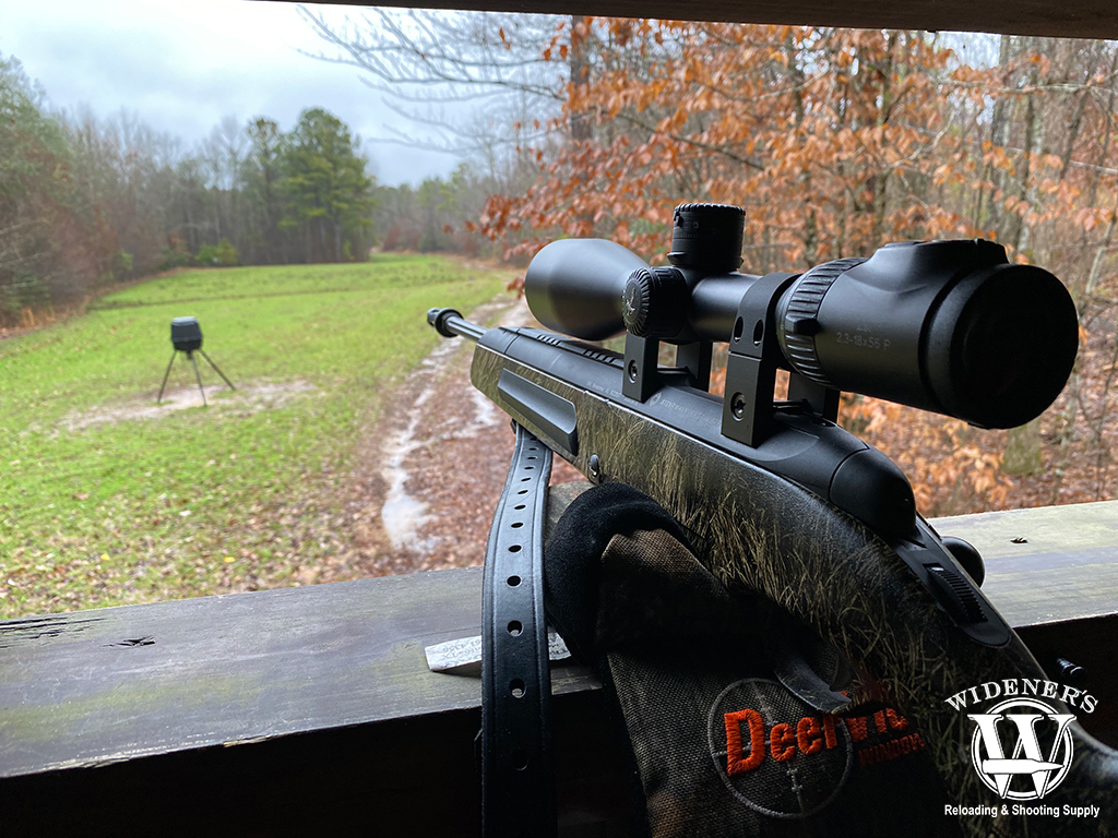 a photo of a hunting rifle learning how to deer hunt