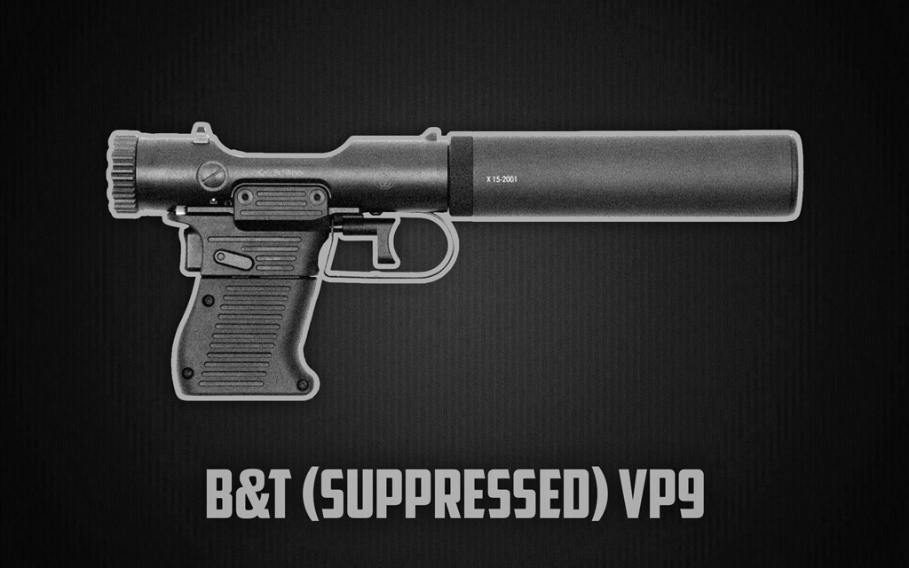 a photo of the B&T VP9 shot show 2021