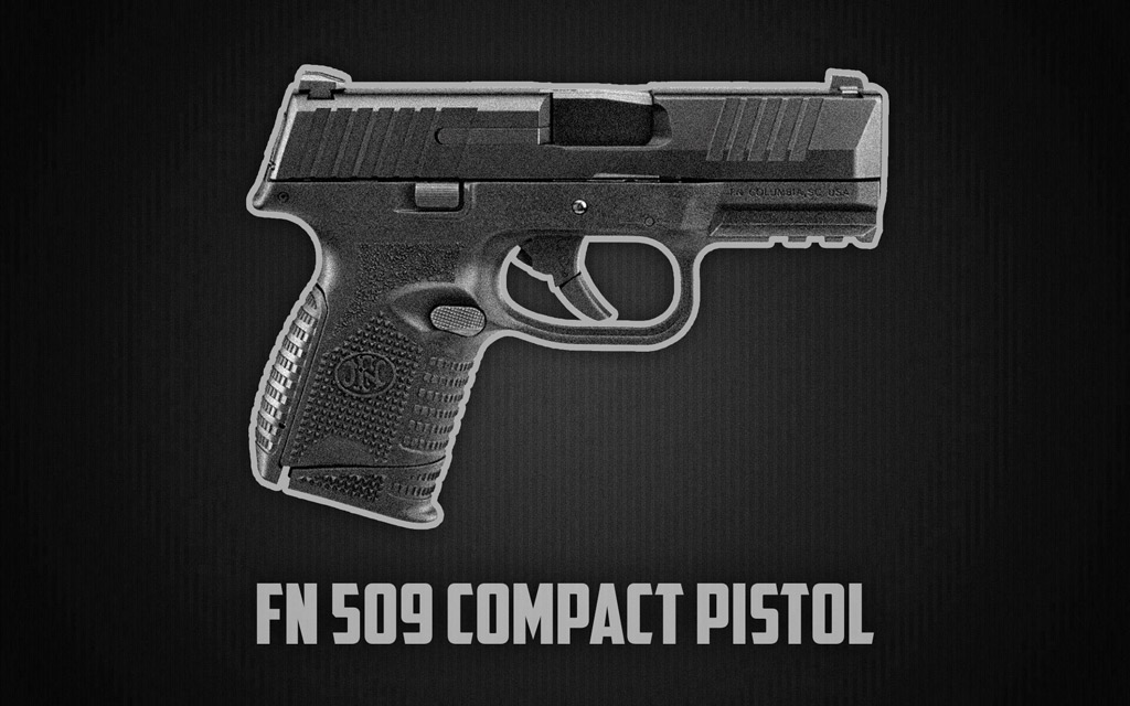 a photo of the FN 509 Compact Pistol