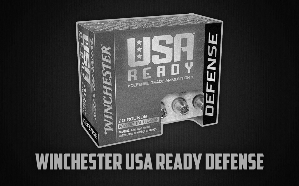 a photo of winchester usa ready defense ammo