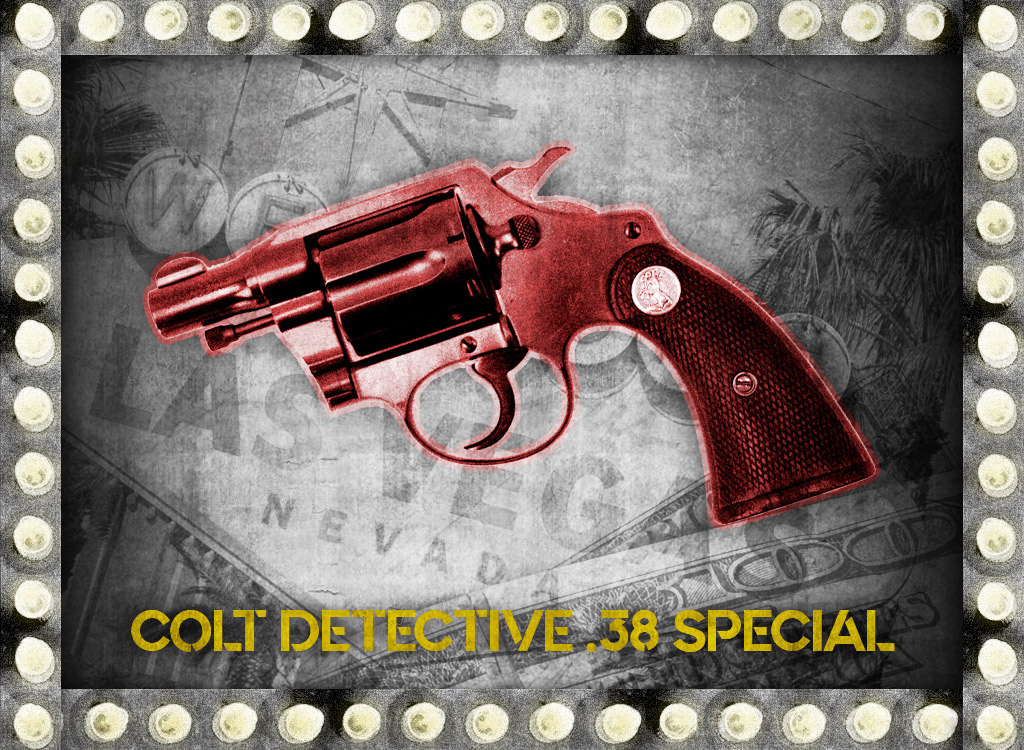 a photo of a colt detective 38 special bugsy Siegel gun