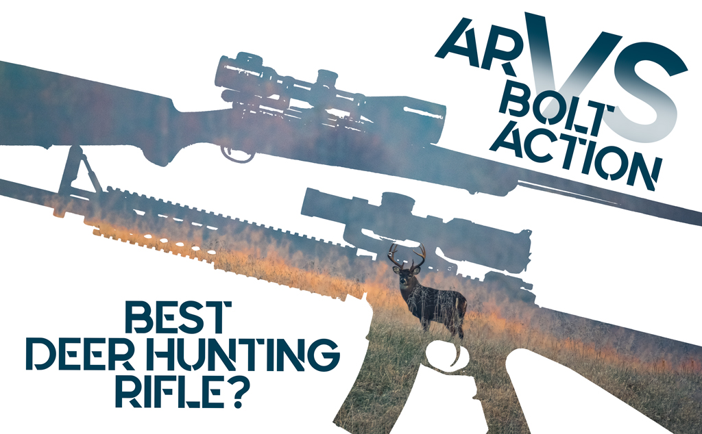 a photo showing the best deer hunting rifle