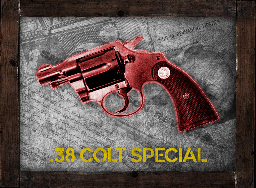 a photo of a 38 colt detective pistol in 38 special
