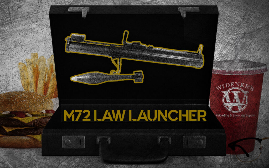 a photo of the m72 law rocket launcher