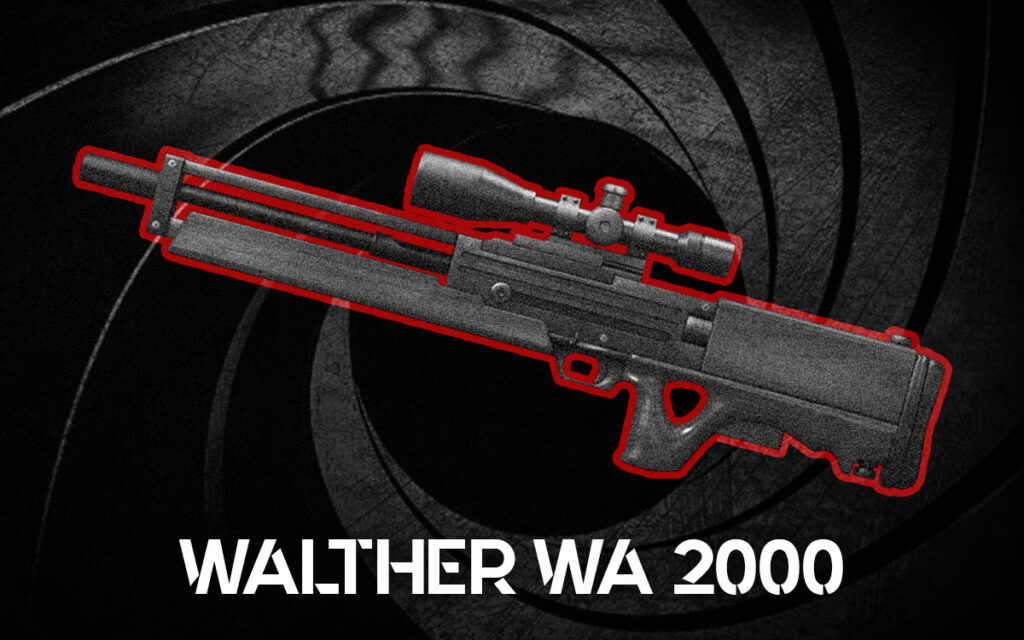 a photo of a Walther WA 2000
