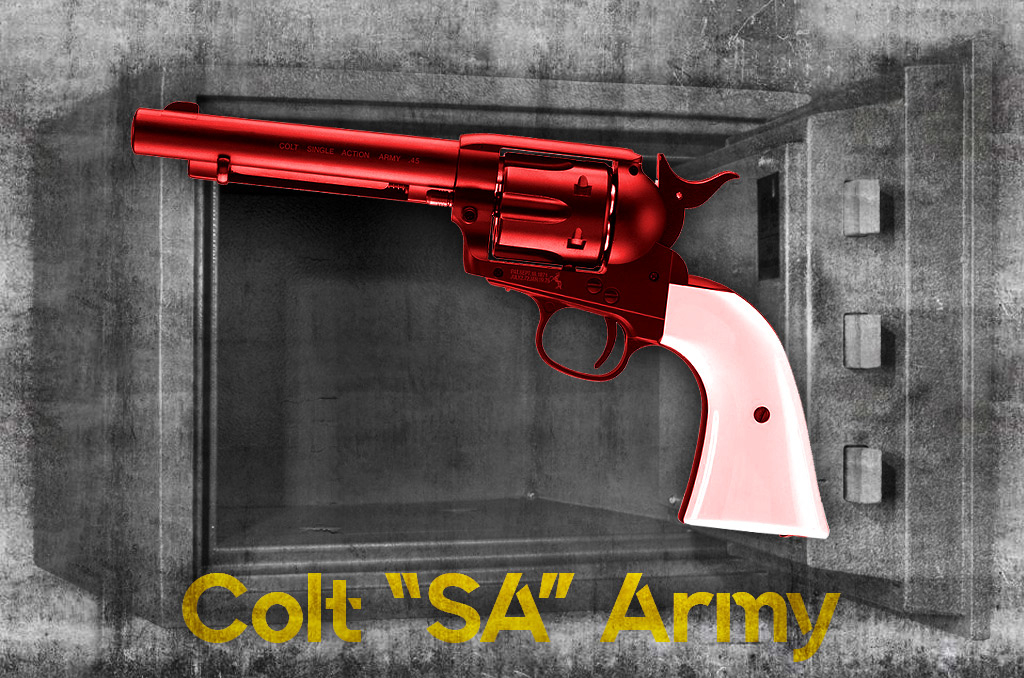 photo of most collectable pistols colt sa army revolver