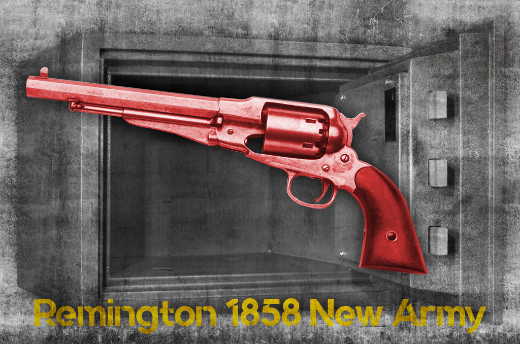 photo of most collectable pistols remington 1858 new army revolver