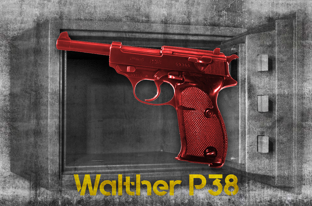 photo of the most collectable pistol walther p38
