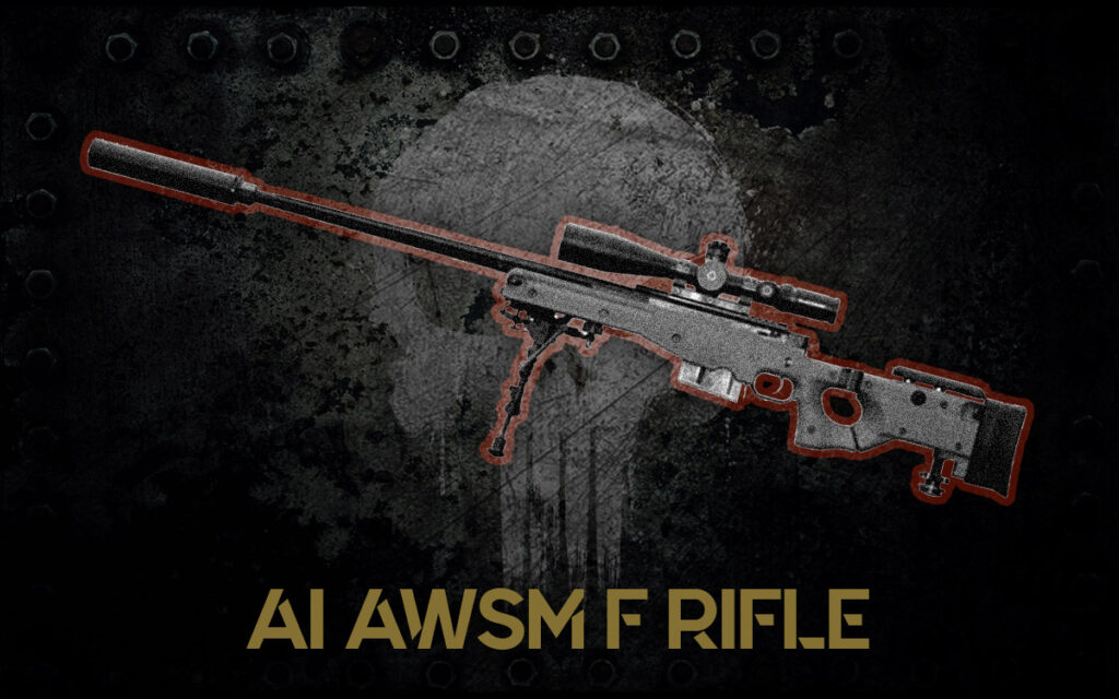 a photo of the Accuracy International AWSM F Rifle