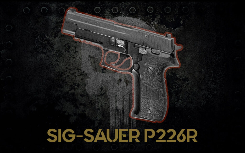 a photo of the SIG-Sauer P226R