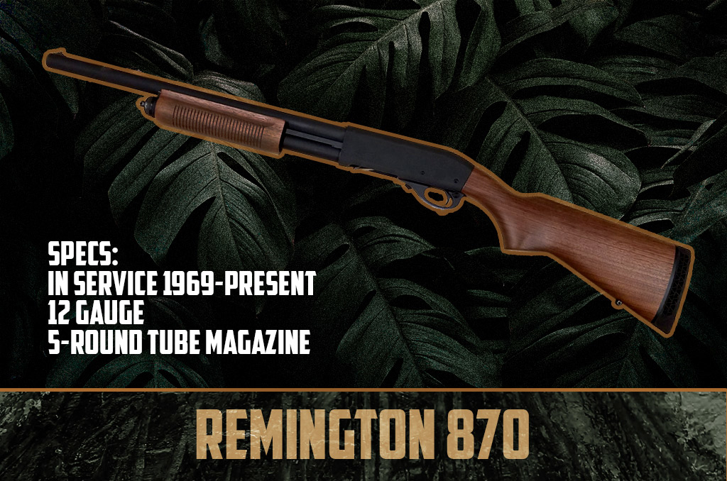 photo of remington 870 shotgun 12 gauge