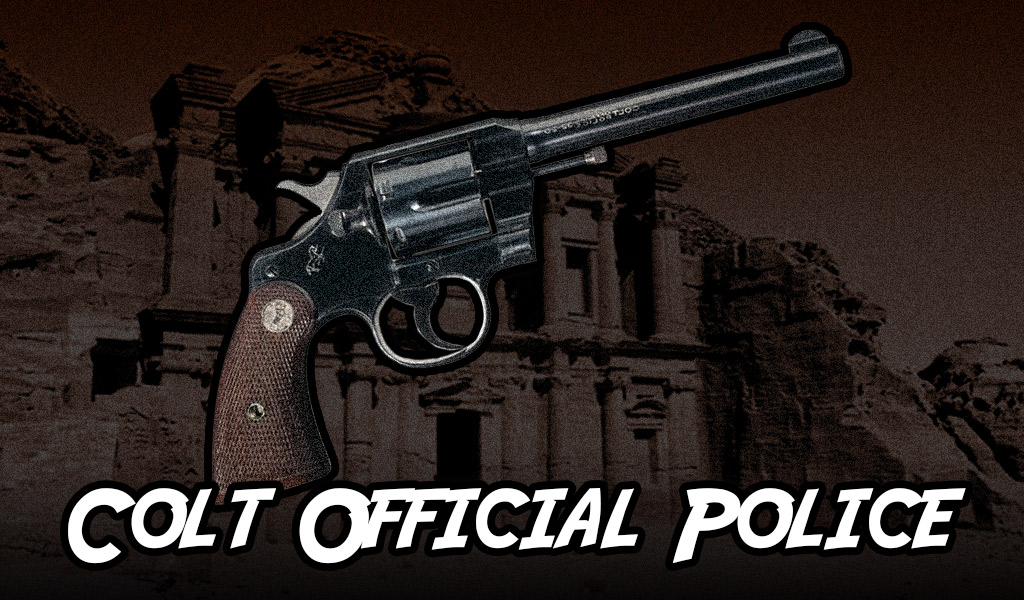 a photo of a Colt Official Police revolver