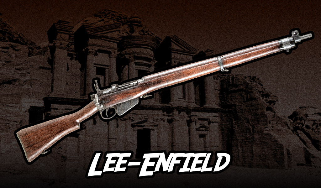 a photo of the Lee-Enfield rifle