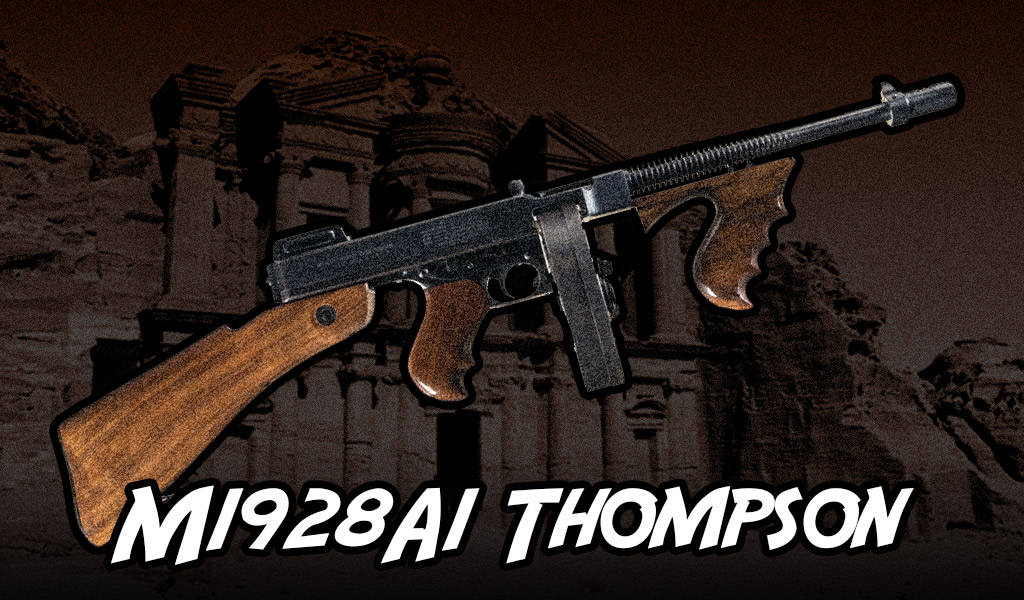 a photo of the M1928A1 Thompson