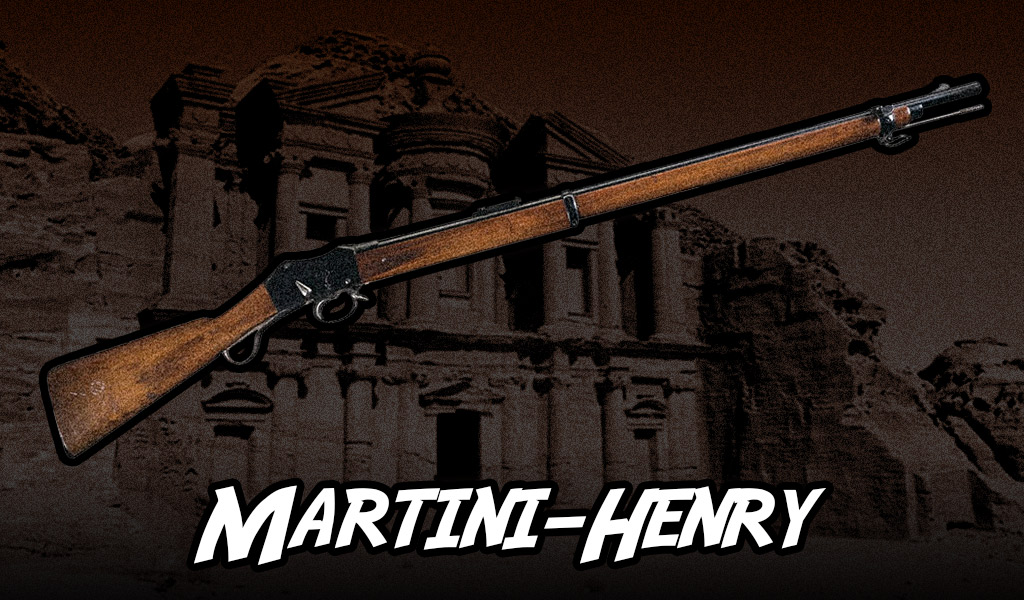a photo of the Martini-Henry rifle