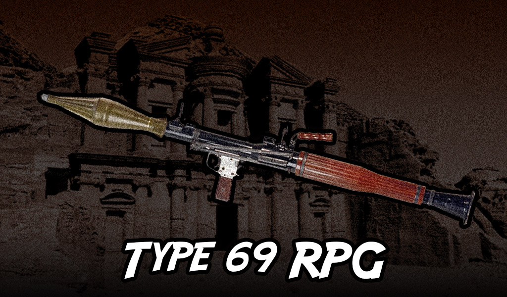 a Type 69 RPG launcher