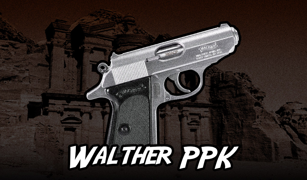 a photo of the Walther PPK pistol