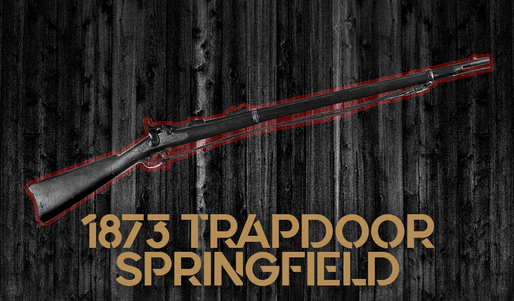 a photo of the Trapdoor Springfield 1873 Carbine