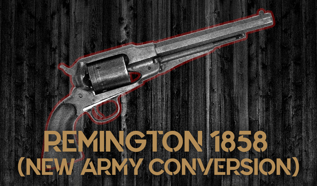 a photo of Remington 1858 New Army Conversion