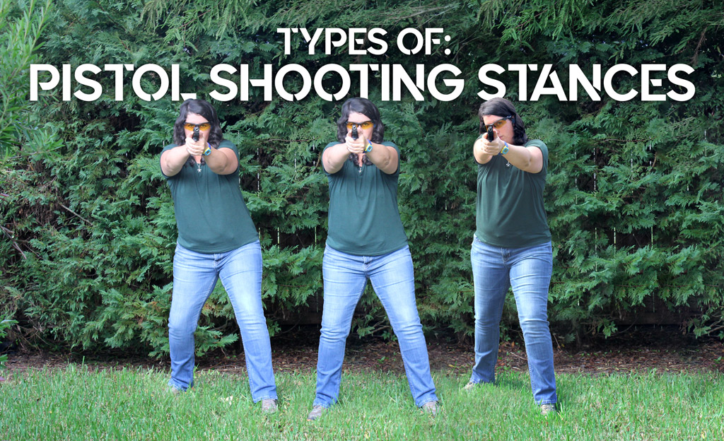 pistol shooting stances
