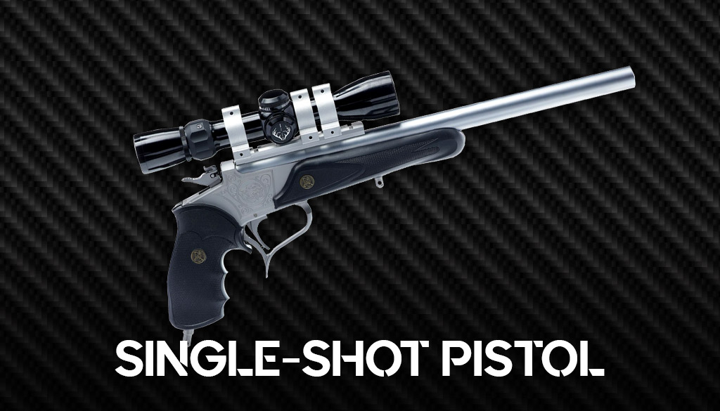 a photo of the Thompson Center Arms Contender Single Shot Pistol