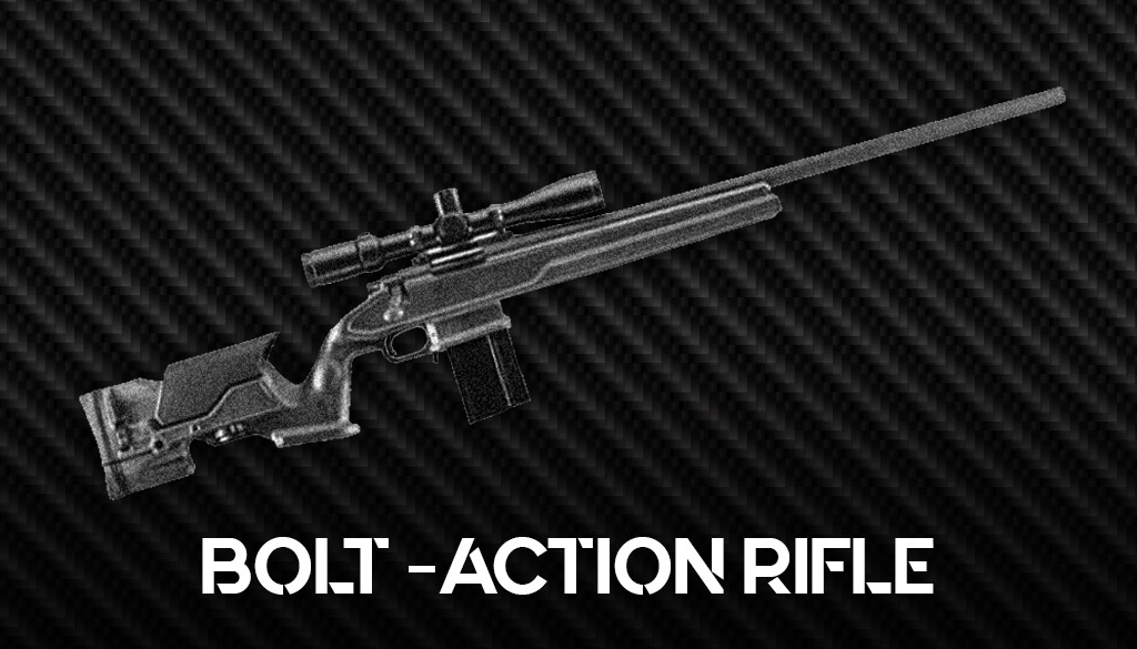 a photo of the remington model 700 bolt action rifle