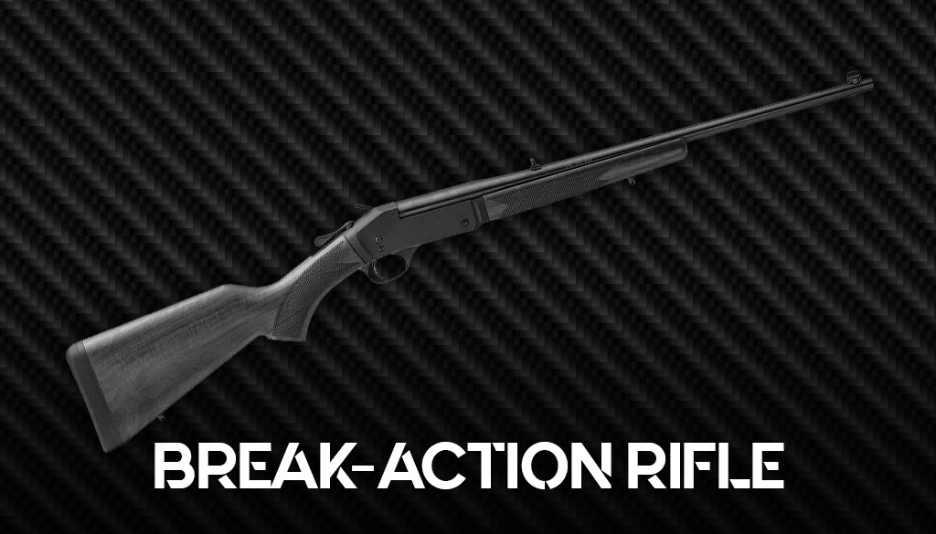 a photo of a break action rifle