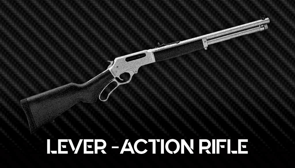 a photo of a henry lever action rifle