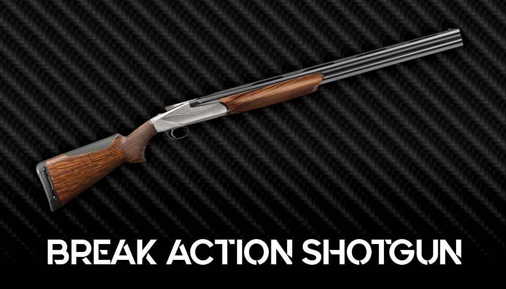 a photo of a break action shotgun
