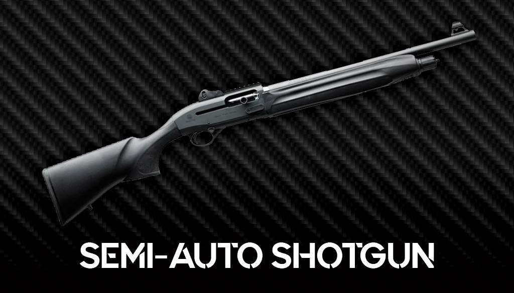 a photo of the beretta 1301 semi auto shotgun
