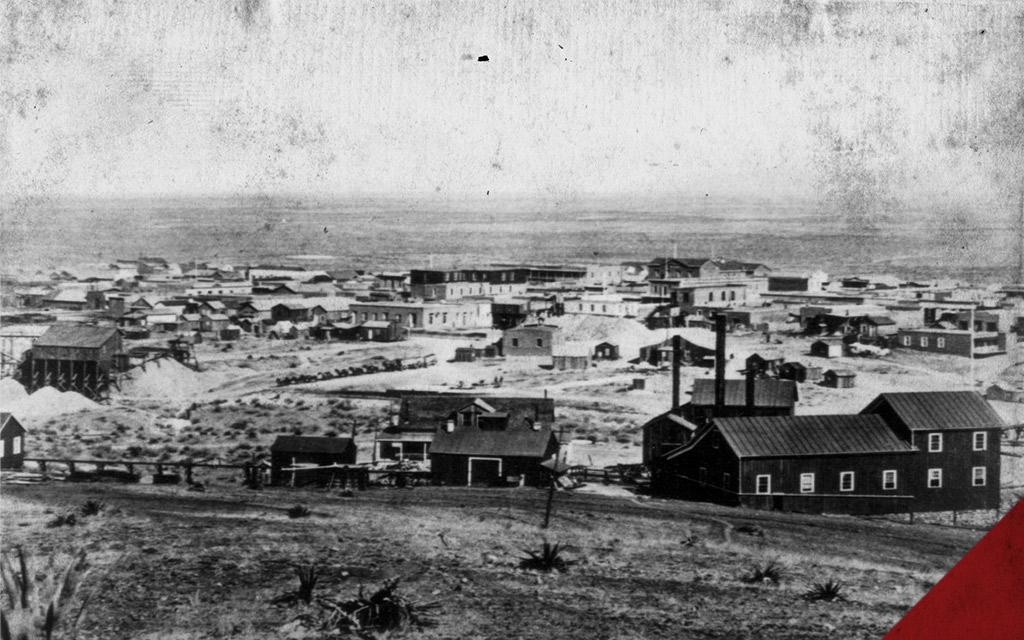 a photo of tombstone Arizona in the 1800s