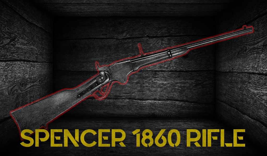 Graphic of the Spencer 1860 rifle