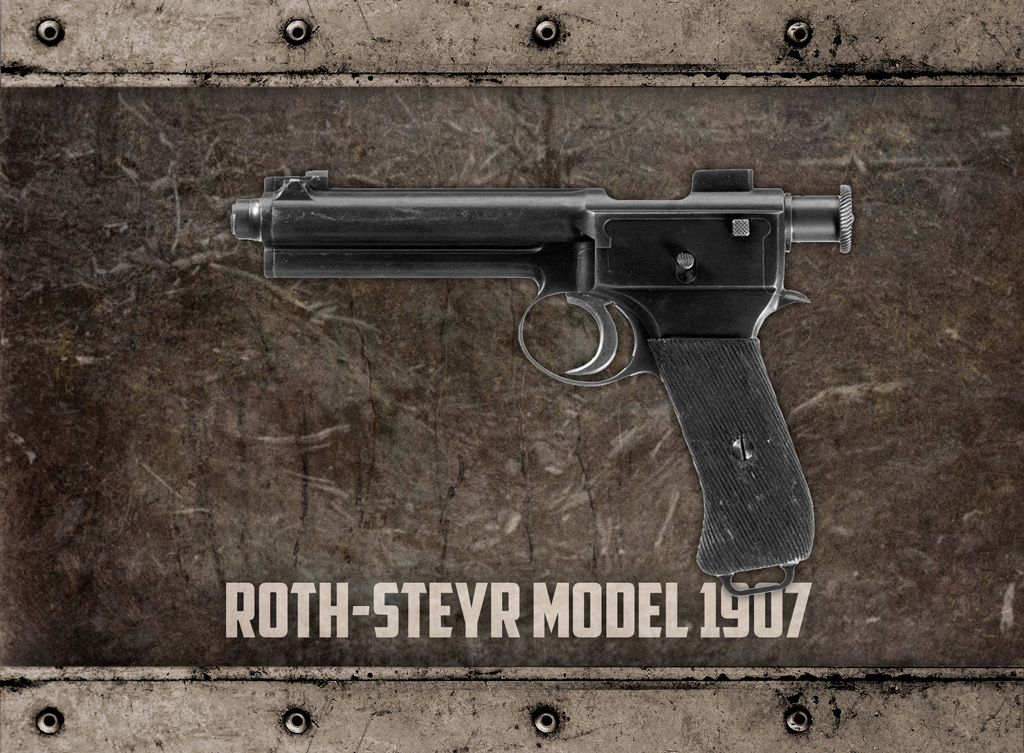 a photo of the Roth-Steyr M1907 pistol