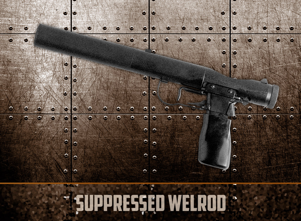 a photo of the suppressed welrod pistol