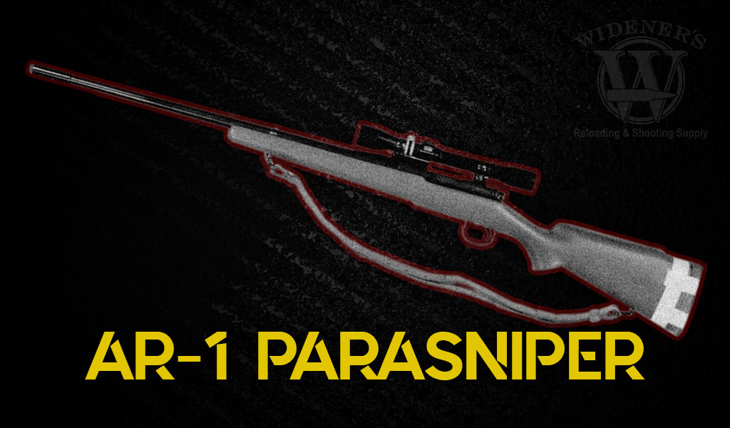 photo of armalite ar-1 parasniper rifle