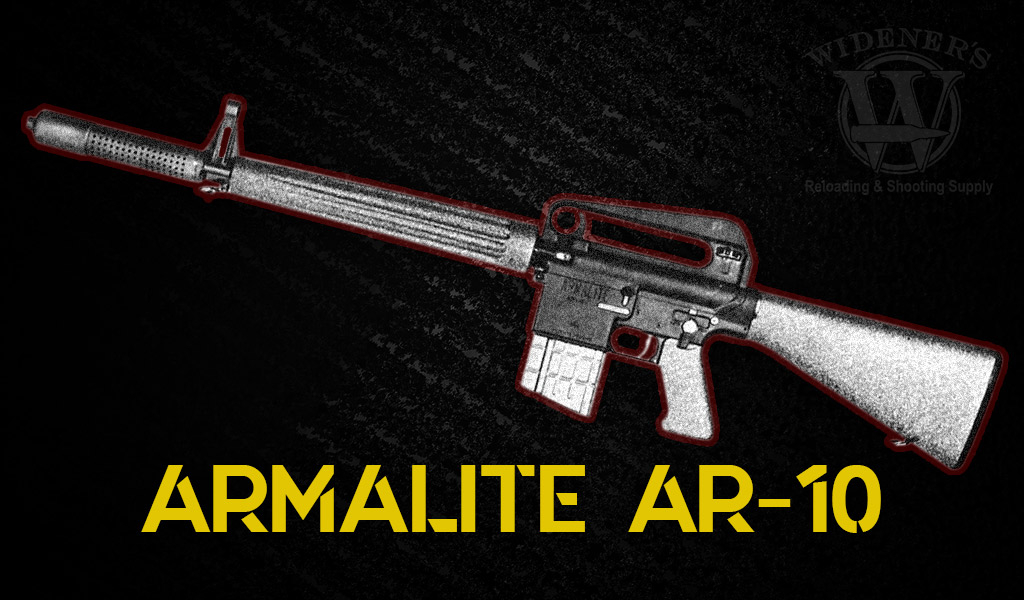 photo of armalite weapons ar-10 rifle