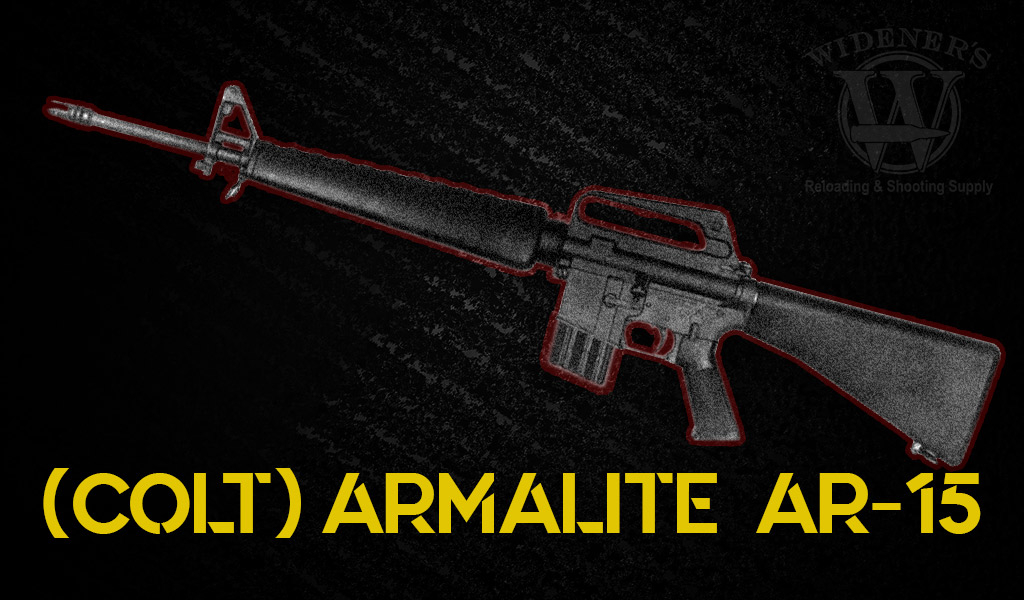 photo of armalite weapons ar-15 rifle