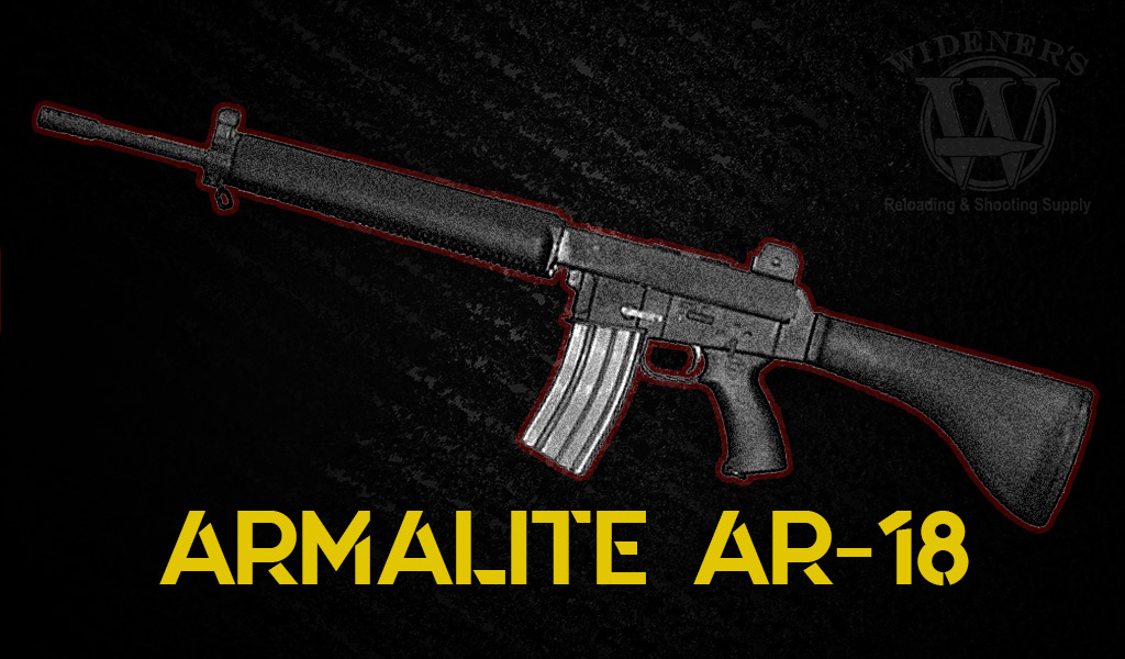 photo of armalite weapons ar-18 rifle