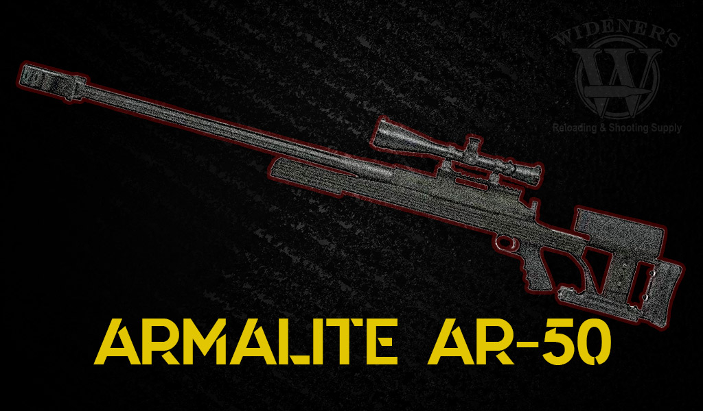 photo of armalite ar-50 sniper rifle
