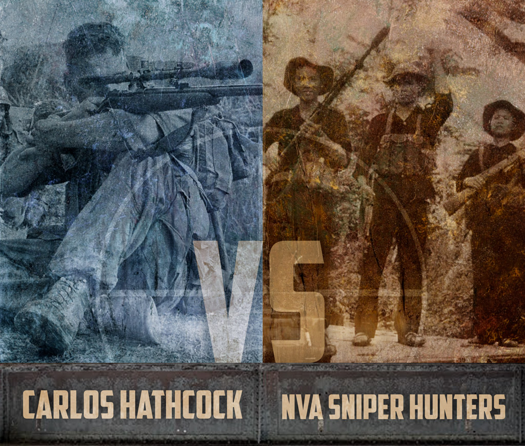 photo of History's Greatest Sniper Duels Carlos Hathcock vs NVA Sniper Hunters