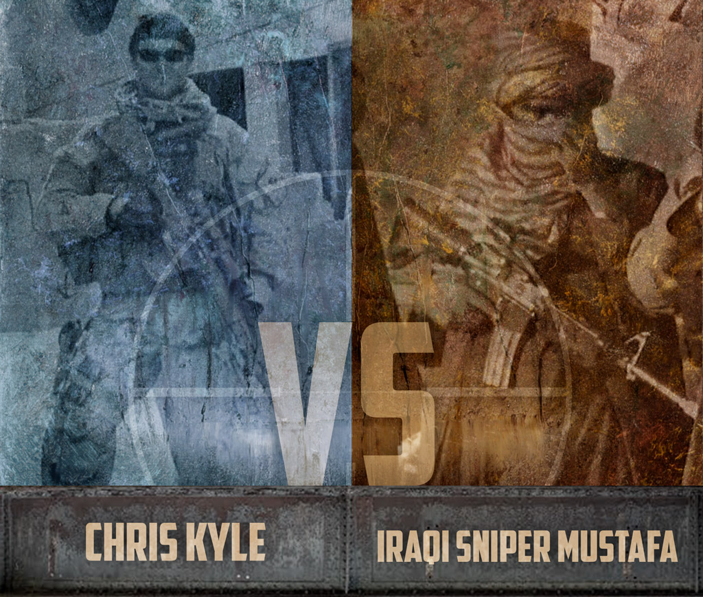 photo of History's Greatest Sniper Duels Chris Kyle vs Iraqi Sniper Mustafa