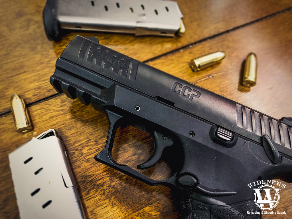 photo of the walther ccp 9mm pistol
